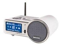 Sagem MY DU@l 700 Internet Radio (USB/LAN/W-LAN, MP3/WMA-Player) silber