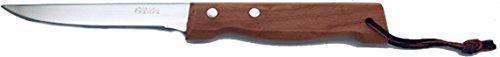 LE COUTEAU DU CHEF 10340007 Couteau Grill Manche Bois, Acier Inoxydable, 23,3 x 2,4 x 1,8 cm