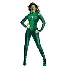 Green Lantern Catsuit Kostüm - grün - Small