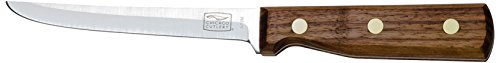 Chicago Cutlery 12.7 cm Stainless Steel Walnut Tradition Boning/Utility Knife with Wooden Handle, Brown