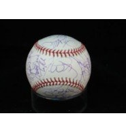 eland (2005) MLB Baseball By the 2005 Cleveland Indians Team autographed ()
