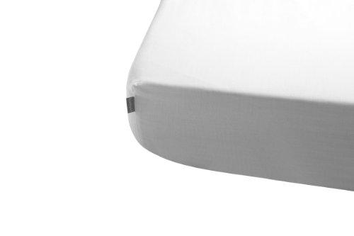 Preisvergleich Produktbild Naf-Naf 30558 Spannbettlaken , 100% Baumwolle 60 x 120, 1, weiß-beige