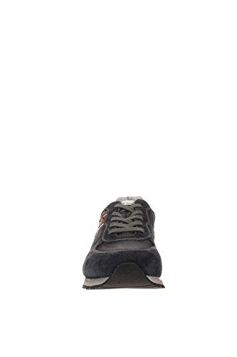 Noir jardins Homme Sneaker a604451u-200Sneaker daim et tissu Bleu