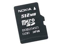 Nokia MU-28 Speicherkarte 512 MB Micro SD