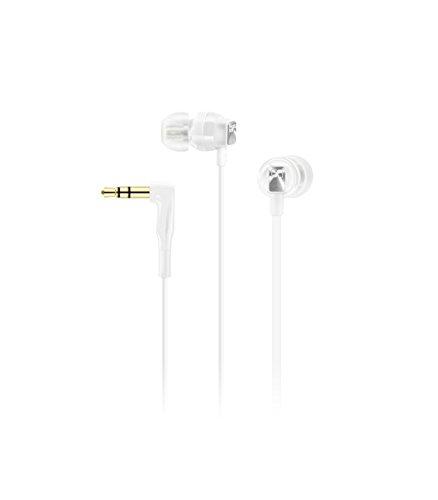 Sennheiser CX3.00W Dentro de oído Binaurale Alámbrico Blanco - Auriculares (Alámbrico, Dentro de oído, Binaurale, Intraaural, 17-21000 Hz, Blanco)
