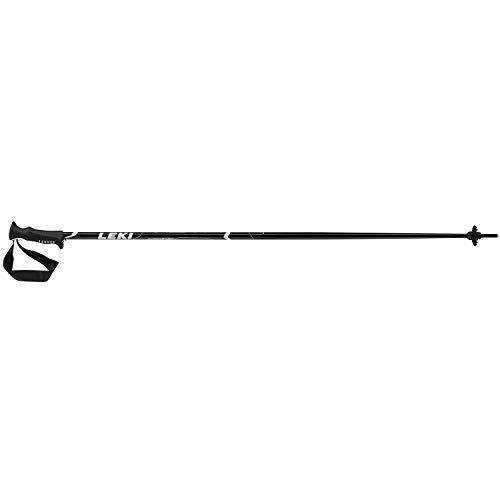 LEKI Vista Skistöcke, Schwarz/Weiß/Silber, 130 cm
