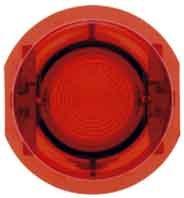 Preisvergleich Produktbild Hager – Taste Taster p / 5101 / 0110 / 0040 rot transparent