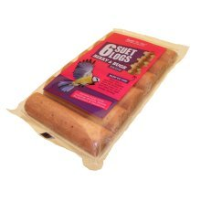 UNIPET Suet Log Berry 'N' Bugs 6pk pack of 1 by UNIPET