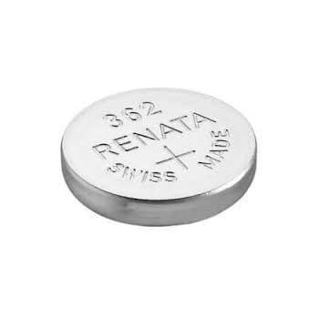 Renata - Pile bouton oxyde argent 362 RENATA 1.55V 24mAh - Blister(s) x 1