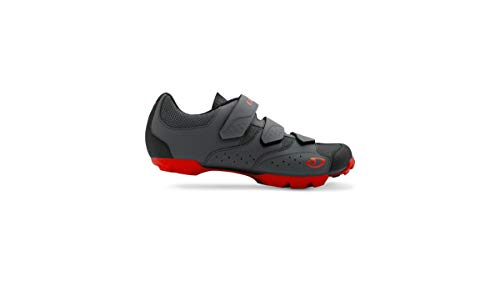 Giro Carbide R II MTB Fahrrad Schuhe schwarz/rot 2019: Größe: 44