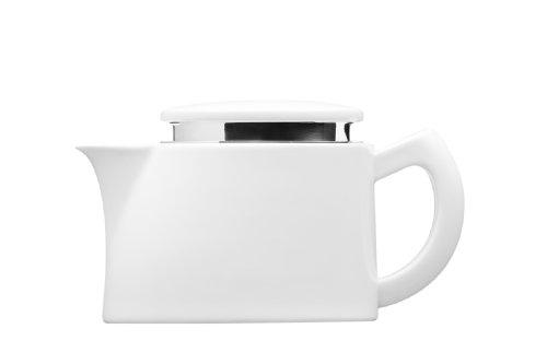 Sowden S061 Kaffeekanne Oskar mit Mikro Edelstahlfilter und Kaffeemesslöffel, 0.4 L