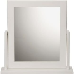 White Square Dressing Table Mirror (662401566)
