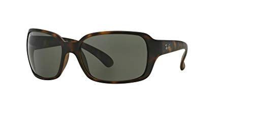 Ray-Ban RB4068 894/58 60M Matte Havana/Green Polarized Sunglasses