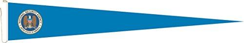 Haute Qualité pour U24 Long Fanion NSA Drapeau 250 x 40 cm