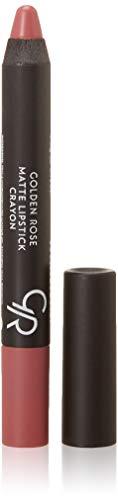Golden Rose Matte Lipstick Crayon #10 Brandy Rose by Golden Rose (Lip Matte Crayon)
