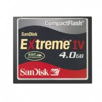 Sandisk compact flash extreme iv 4gb