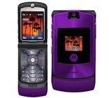Motorola RAZR V3i in PURPLE Sim Free UNLOCKED Mobile Phone Boxed with Accessories by Motorola