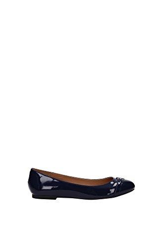 Ballerine Armani Jeans Donna Pelle Blu Z55D53350 Blu 36EU