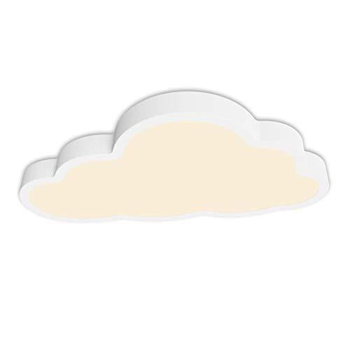 HongTeng 36W LED Deckenleuchte Cloud Lampe Fernbedienung Dimmbare Beleuchtung for Kinderzimmer -