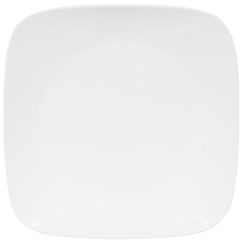 corelle-pure-white-quadrato-piano-per-cena