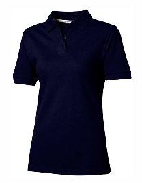 Slazenger Ladies Polo Piqué 100, Navy, L -