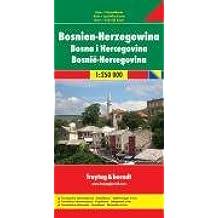 Carte routière : Bosnien und Herzegowina