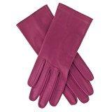Lundorf Linea – Leder Damen Handschuh – mit Kaschmirfutter. Aus Lammleder in bunter Farbenvielfalt - Pflaume - 7 - Medium (Pflaume Leder)