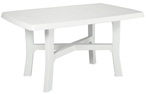 Mesa rectangular Mesa auxiliar de resina de plástico de color ...