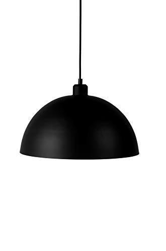 LIFA LIVING® 2-er Set Vintage höhenverstellbare Pendellampe schwarz Metall   Deckenleuchte mit E- 27 Sockel   Hängelampe für Esszimmertisch & Theken