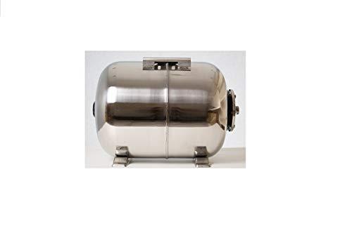 Hauswasserwerktank 50l Edelstahl Membrandruckkessel Druckkessel Ausdehnungsgefäß