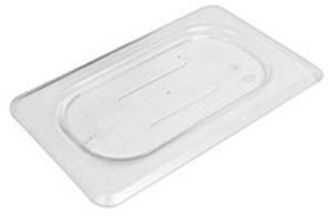 Camwear Food Pan Cover, 1/9 Size, Polycarbonate, Clear, Nsf (6 Pieces/Unit) by Cambro Camwear Food Pan Cover