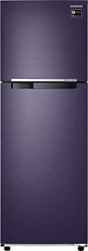 Samsung 272L 2 Star Inverter Frost Free Double Door Refrigerator (RT30T3082UT/HL, Pebble Blue)