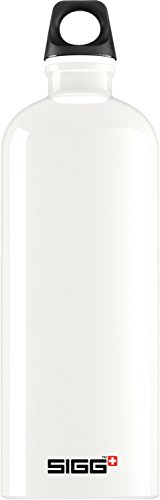 Sigg bottle traveller borraccia 0,6-1 l, bianco (traveller white), 1 litro