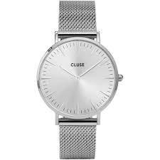 CLUSE Damen Analog Quarz Uhr mit Edelstahl Armband CW0101201013
