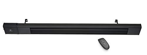 Quality Heating Infrarot-Terrassenstrahler 2400 Watt regelbar und mit Fernbedienung