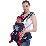 B&B Baby Carrier Backpack Multifunction with Pure Cotton Waist Stool and Hood Ba