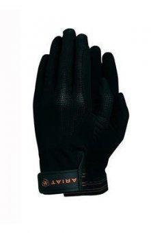Ariat TEK AIR Grip Handschuhe, 7, schwarz (Handschuhe Grip Tek)