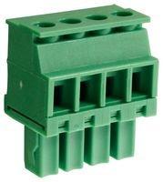 CAMDENBOSS TERMINAL Block, PLUGGABLE, 8A, 4P, 3.81MM, V CTBP92VE/4R -