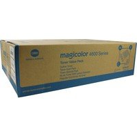 Konica Minolta A0DKJ51 - Konica MC4650 Toner Value Kit (C M Y 4K) -