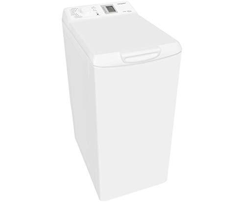 Exquisit LTO1206-18 Waschmaschine - Weiß, Toplader, 6.5 kg, 1200 U/Min, A+++