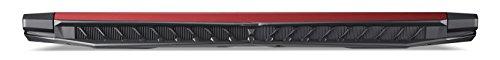 Acer Nitro 5 AN515 51 572A 396 cm 156 Zoll full HD IPS matt Gaming Notebook Intel main i5 7300HQ 8GB RAM 128GB SSD 1TB HDD GeForce GTX 1050Ti Win 10 schwarz rot Notebooks