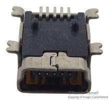 AMPHENOL ICC (FCI) Mini USB Conn, Type B, RCPT, 5POS, SMT 10033526-N3212LF Pack of 10 - Icc-mini