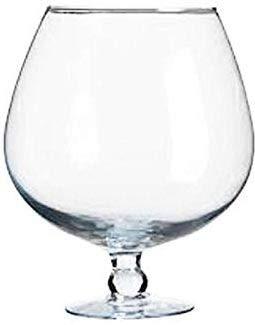 Oberstdorfer Glashütte XXXL Riesen Cognac Schwenker Glas Cognacschwenker Kristallglas KEIN BOWLE GLAS Füllmenge ca. 7 Liter Höhe ca. 28 cm, Öffnung oben ca. 15 cm