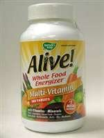 Nature's Way - Alive! Multi-Vitamin(with iron) 180tabs