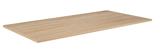 Phoenix étagère Bois, chêne Brut de sciage, 85.1x45x1.5 cm, 85,1 x 45 x 1,5 cm