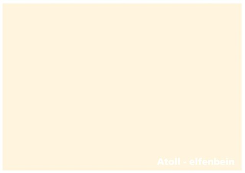 - Tonpapier - DIN Lang (105mm x 210mm) - 160g/m² (22342) Farbe: Atoll-elfenbein (Farbigen Cardstock)