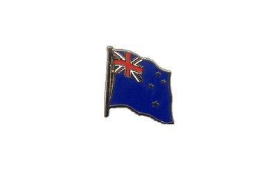 Flaggen-Pin / Anstecker Neuseeland vergoldet