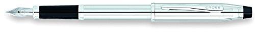 Cross Century II - Pluma estilográfica, medio, color cromo