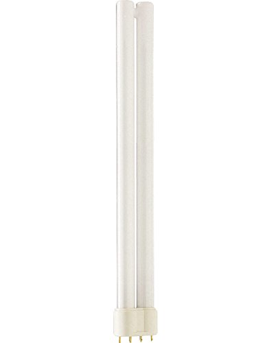 Philips Master L Low Energy Lighting 4 Pin Long Single Tube CFL 24w 2G11 Warm White (3000k) 10000 Hours