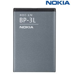 Orig. Akku Nokia BP-3L Lumia 710 Li-Polymer 1300